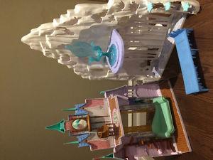 Frozen Toy Castle & Accessories