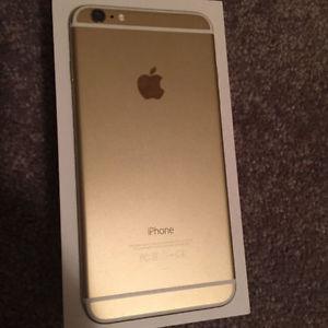 IPhone 6 plus Gold 64 GB Factory Unlocked