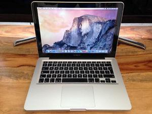 MacBook Pro 13-inch  Core i5 8gb ram solid state hard