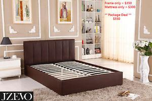 Queen size PU Bed Frame