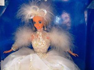 STUNNING SNOW PRINCESS BARBIE TIMELESS DOLL IN BOX