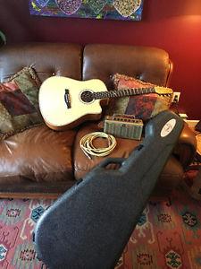 Seagull Cameo Artist Series Guitar and Yamaha Amp
