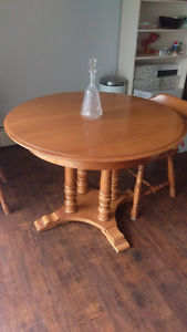 Solid Maple Dining Room Set $ OBO