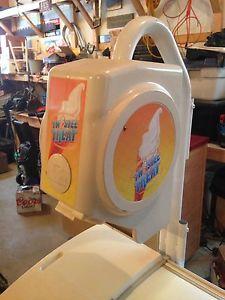 Twirlees ice cream machine.