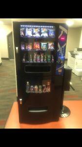 Vending machine cold drinks & snacks