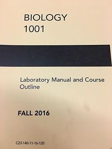 Wanted: LOOKING FOR A USED BIO  LAB MANUAL