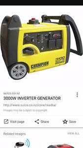 Wanted: Wtb a watt invertor champion generator