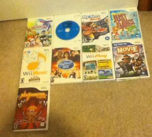 Wii Games (Playable on Wii U)
