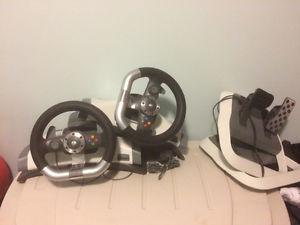 Xbox 360 steering wheel (2)
