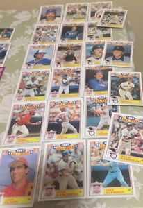20 All Star Baseball Cards All Different Years - High Book