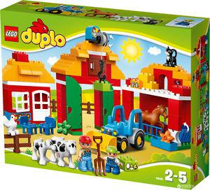 300 piece Lego Duplo + Farm animals