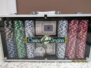 Casino Regina Poker Chip set
