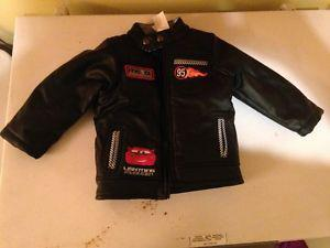 FS: Lightning McQueen Leather Jacket **BRAND NEW**