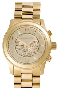 Gold Michael Kors watch in perfect condition