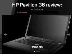 """HP Quad Core 15.6"""" Laptop 500 GB HDD 6 GB Ram HDMI Win 7"""
