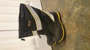 Hi-Viz Steel Toe Boots