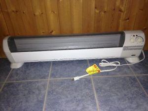 Honeywell baseboard electric heater