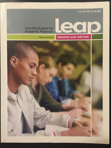 Learning English for Academic Purposes LEAP