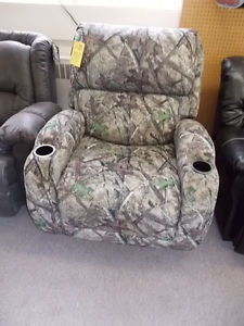 NEW Camo recliner on sale for $399.