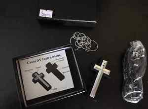 New cross necklace with spy camera