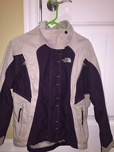 North Face jacket and snow pants