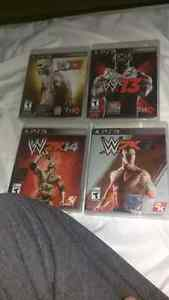 PS3 WWE Games