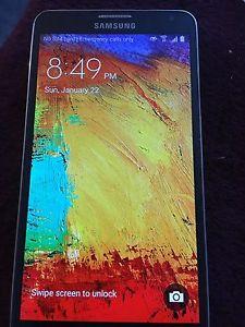 Samsung Galaxy Note 3, Unlocked, 32GB, black w/pen