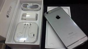 Unlocked New iPhone 6 Grey 16GB - $400