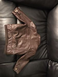 Wanted: Leather Jacket 6-12 mos.