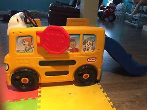 Wanted: Little Tikes School Bus Activity Center $50