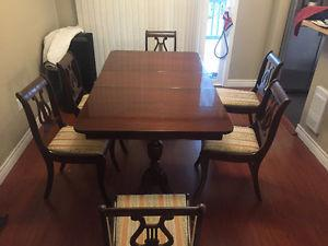 's dining room table and chairs