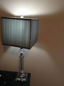 Crystal Desk Lamp