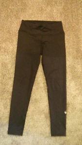 Full Length Inner Fire Black Yoga Pants - Women's Size 8