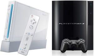 I have a playstation 3 and wii for sale