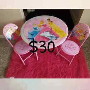 Pink Disney princess