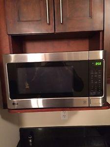 Stainless Steel LG microwave
