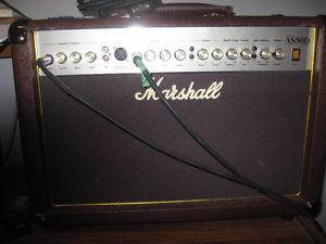 Taylor accoustic and Marshall Amp Combo