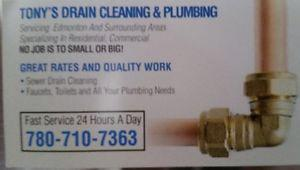 Tony's drain cleaning and sewer services