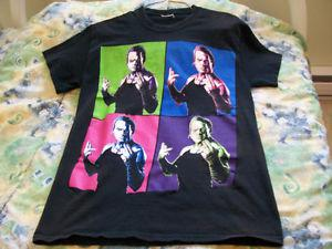 VINTAGE JEFF HARDY T SHIRT MENS SMALL TNA WWE WWF THE HARDY