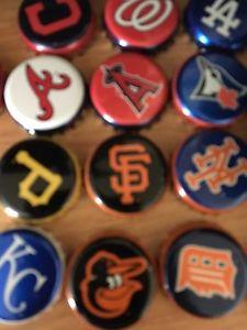 Wanted: MLB miller lite bottle caps