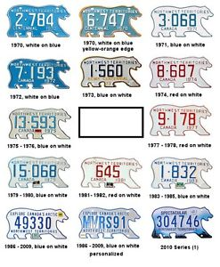 Wanted: WANTED: Old NWT License Plates!!!