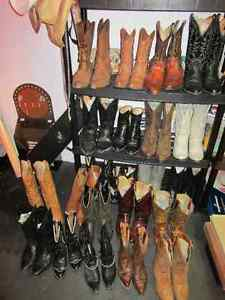 Woman's Cowboy Boots ANY PAIR FOR $50.