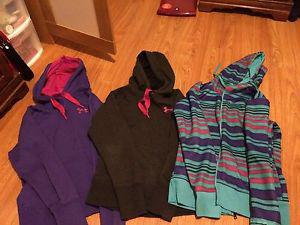 Women's Under Armour Sweaters - M - $20 each