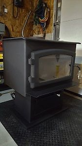 Wood Stove in mint condition 2 yr old