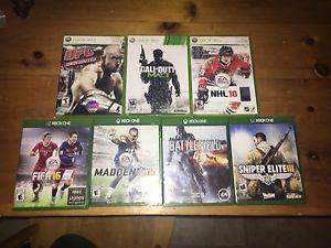 Xbox 360 and Xbox One video games