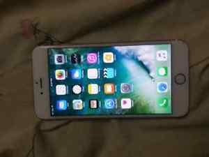 iphone 6s plus 64 gb rose gold locked to bell in great