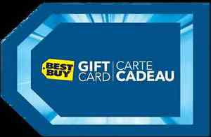 200$ Best Buy Gift Card for 170$