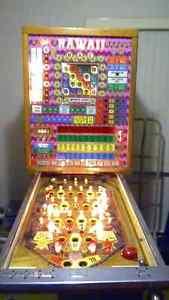 Bally Hawaii Bingo pinball slot vintage gambling machine