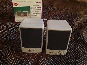 Brand new Computer/ Stereo speakers