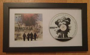 Dimebag Darrell and Vinnie Paul Autographed CD Display